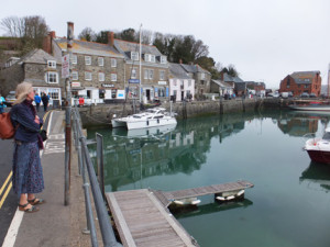 Elizabeth at Padstow