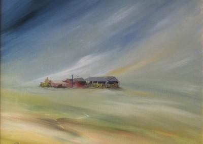 Old barns of KIlham