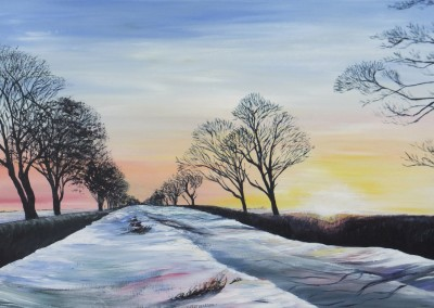 Winter on Kilham Road