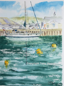 White Yacht Padstow aug 16