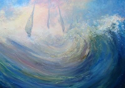 Big sea sailing