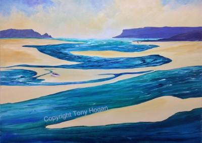 Low tide on Camel Estuary