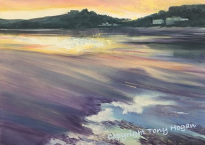 Morning light on Camel Estuary- Low tide