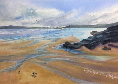 Harlyn Bay-Winters Day